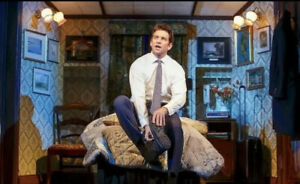 Groundhog Day Stage Used Prop Wallpaper Set Piece ANDY Karl Broadway Musical