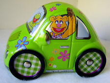 Muppets Jim Henson Metal Tin Car Kermit Miss Piggy Fozzi Bear Animal Gonzo Rizzo