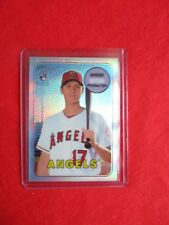 2018 Topps Shohei Ohtani  Heritage SSP 700 ,Topps Chrome 4 Cards Prism Negitive