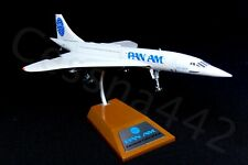 PAN AM Concorde INFLIGHT 1:200 Aircraft Model Metal Complete N528PA Original Box
