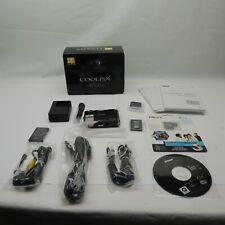 Nikon COOLPIX S1000pj 12.1 MP Projector Digital Camera w 8GB memory & Remote C
