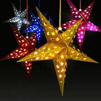 Xmas String Hanging Star Christmas Tree Ornaments Festival Decoration Home Decor