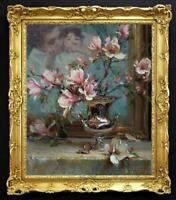 "Hand painted Original Oil Painting art still life Flower on canvas 20""X24"""