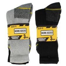 Unbranded Striped Cotton Blend Socks for Men