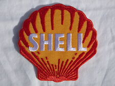 ECUSSON PATCH THERMOCOLLANT aufnaher toppa SHELL garage course automobile sport