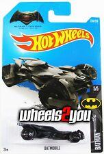 BATMOBILE #230 Batman VS Superman BVS - 2016 Hot Wheels Basic W132