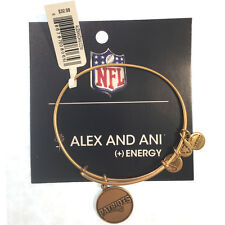 Alex and Ani NWT Patriots Bangle Russian Gold w/card in white gift box