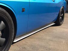 2008-2018 Dodge Challenger Rocker Panel Extension Splitters - All Trim Levels
