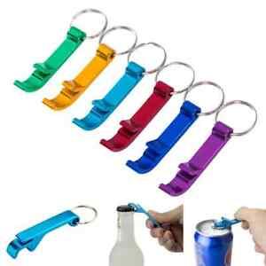 Mini Beer Bottle Opener Keyring Keychain (Choose Colour)   BRAND NEW
