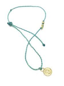 Pura Vida Turquoise Blue Surfer Bracelet