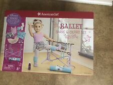 American Girl Truly Me Ballet Barre & Outfit Set -NEW- Retired