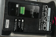 Incipio offGRID Backup Battery Case For iPhone 4/4s Matte Gunmetal
