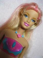 Barbie in a Mermaid Tale doll 2 in 1 transforming change MERLIAH beach feet nude