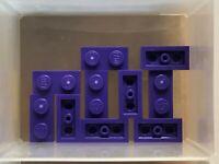 LEGO 20x Dark Purple Plate 1 x 2 4655695 3023