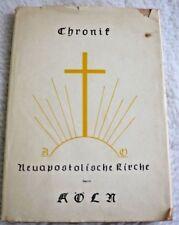 Cronología de los neuapostolischen iglesia distrito Colonia-libro usado 1965