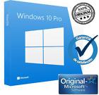 Windows 10 Pro 32/64 Bits Clave Licencia 100% Genuina WIN 10 (Leer descripcion)
