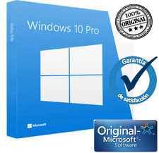 Windows 10 Pro 32/64 Bits Clave Licencia KEY 100% Genuina WIN 10-ACTIVAR ONLINE