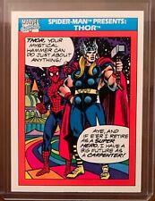 1990 Marvel Spider-Man Presents: Thor perfect 10 card PSA CGC BGS ready GEM MINT