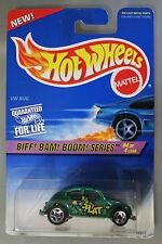 Hot Wheels 1:64 Scale 1997 BIFF! BAM! BOOM! Series VW BUG (GREEN)