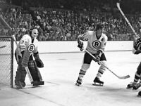 Garry Cheevers Bobby Orr Boston Bruins Unsigned 8x10 Photo