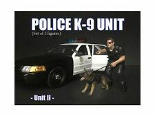 American Diorama 1/18 Police K9 Canine & Officer Set - UNIT 2 - 38164