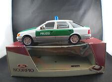 Schabak 1502 Ford Scorpio Polizei Police 1/25 neuf boite/boxed mint