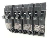 UBITBBD2020 Lot of 6 TMB Circuit Breaker Model