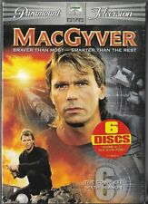 MacGyver - The Complete Sixth Season (DVD, 2006, 6-Disc) Brand New Sealed!