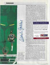 Kareem Abdul Jabbar Autographed 8x11 Magazine Picture PSA LA Lakers Basketball