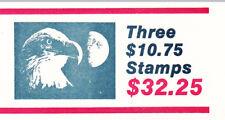 U.S. BKLT OF 3 SCOTT #BK148 1985 $10.75 EAGLE/MOON EXPRESS MAIL P#1111 MINT