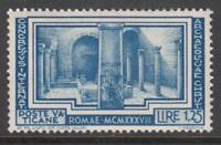 VATICANO 1938 Archeologia Cristiana 1,25 Lire cv 135$ MNH** Super Centered