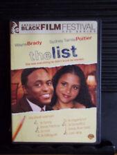 THE LIST (LIKE NEW DVD) WS - NOT RATED- WAYNE BRADY 2007  English & SDH