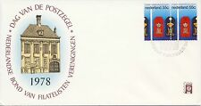 Envelop Dag van de Postzegel 1978 met dubbel-frankering