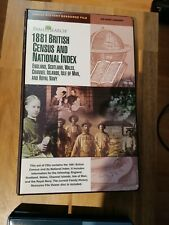 1881 British Census and National Index - 25 CD Roms - Covering England, Scotland