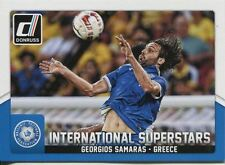 Donruss SOCCER 2015 INT. SUPERSTARS Chase Card #65 GIORGOS SAMARAS