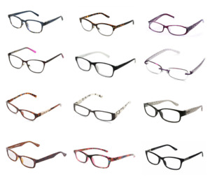 Foster Grant Reading Glasses Womens Designer Fashion New +1.00 to +3.25 Strength