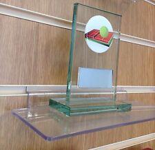 VETRO TROFEO Di Tennis Premio INCISIONE GRATUITA.