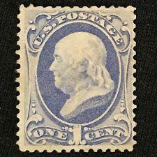 U.S. SC #145 Mint No Gum Thin 1870