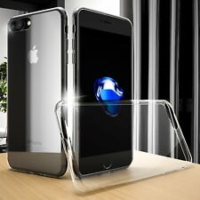 For iPhone 8 Plus Ultra thin Silicone Soft Case Crystal Clear Shockproof Cover