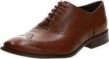 Mens Cole Haan Williams Wingtip Oxford - British Tan Leather, Size 8.5 [C12210]