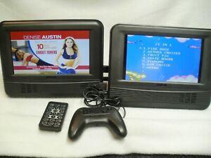 """RCA Auto A/V DVD/ + games, Mutimedia , 2- 7"""" screens, DRC69705E28G"""