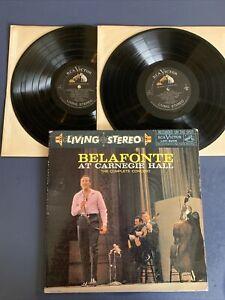 HARRY BELAFONTE At Carnegie Hall 2x Gatefold LP Vinyl VG/VG+