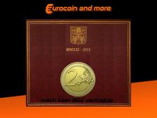 2 Euro Vatikan 2021 450. Geburtstag von Caravaggio im Folder