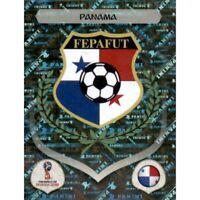 Panini WM 2018 532 Panama World Cup WC 18Wappen Logo Glitzer Foil