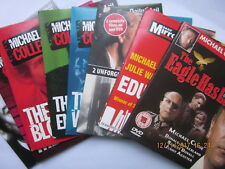 9 Michael Caine Films promo dvds The Eagle Has Landed +