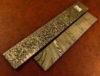 150x25 mm Handmade Damascus Steel Solid Round Bar-Rod-Jewelry Making
