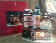 Christmas Village - Cafe Caprice