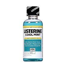 Listerine Cool Mint Antiseptic MouthWash Travel Size 3.2oz Each