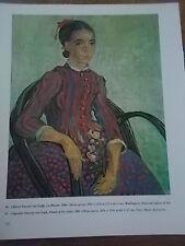 Post-impressionista stampa a colori di Vincent Van Gogh La MOUSME 1888