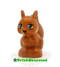 LEGO Dark Orange Squirrel - Friends Disney Princess Animal Pet 41017 41031 10738